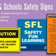 High-quality Camps & Schools Safety Signs are now available for online ordering! Get a set shipped directly to your business today.