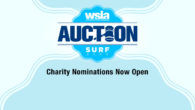 Submit your favorite water sports charity to be a recipient for the proceeds of this year's Auction at Surf Expo!