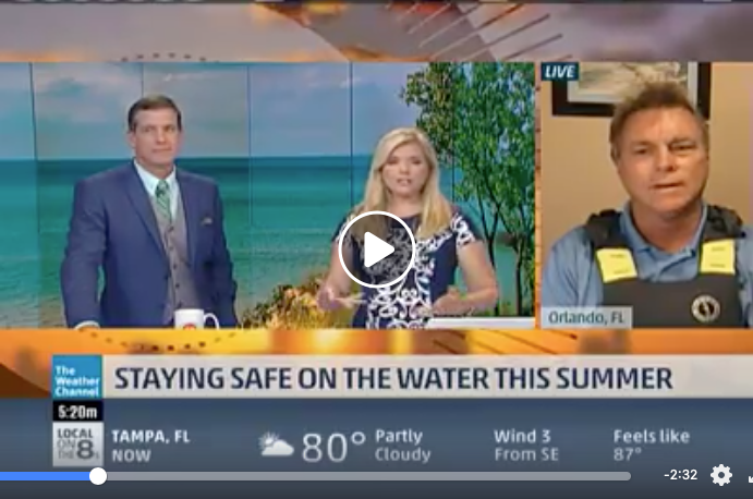 Jim Emmons from WSF interviewed by The Weather Channel