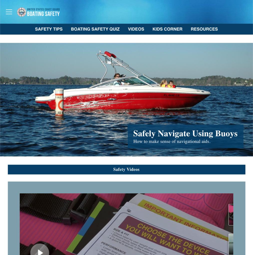 USCG Boating Safety